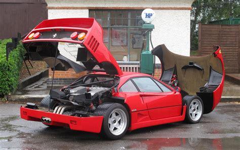 ferrari f40 ferrari f40 1989 widescreen exotic car image 04 of 8