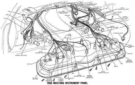 71 Mustang Dash Wiring Diagram by Confusing 66 Dash Problems Ford Mustang Forums Corral