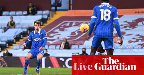 Aston Villa v Brighton, Football League and more: Saturday ...
