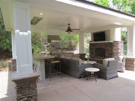 outdoor luxury patio anaheim ca traditional