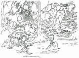 Paradise Island Coloring Adult Malvorlagen Erwachsene sketch template