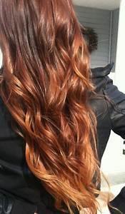 Ombré Hair Auburn : 143 best henna hair images on pinterest ginger hair henna hair and hairdos ~ Dode.kayakingforconservation.com Idées de Décoration