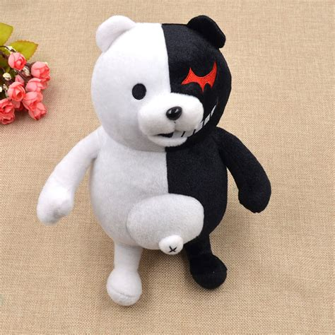 Anime Dangan Ronpa Mono Kuma Monokuma White&Black Bear