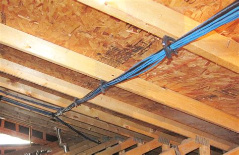 Home Network Wiring Through Ceiling Data Wiring