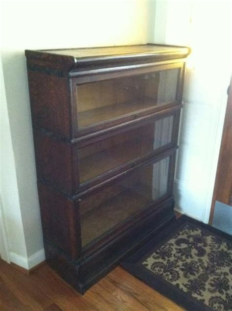 Stackable Barrister Bookcase by Antique Macey S Quartersawn Oak Stackable Barrister