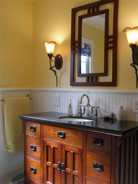 Mission Style Bathroom Vanity - 1000 ideas about craftsman bathroom on
