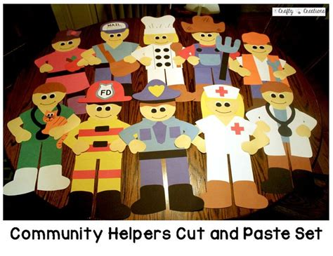 crafts actvities and worksheets for preschool toddler and 701 | community helper crafts preschool