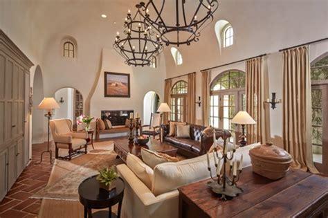 Mediterranean Style Living Room Curtains-interior Design