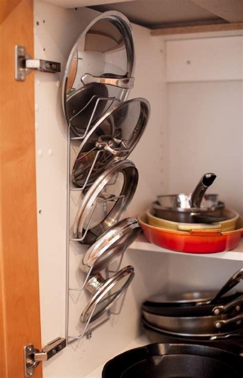 kitchen lid organizer 7 really cool kitchen organizers 2138