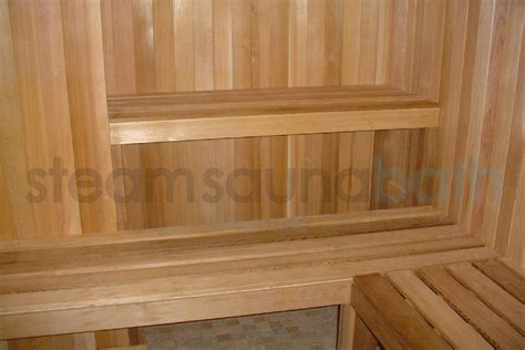 Sauna Room Upper Bench Could Use A Skirt  Photo Gallery