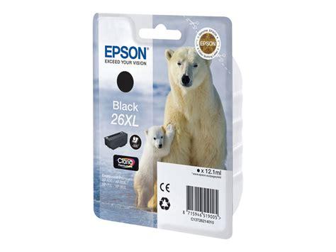 maroquinerie de bureau epson t26xl ours polaire à rendement élevé