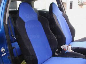 2002 Acura Rsx Seat Covers by Acura Rsx 2002 2006 Leather Like Custom Fit Seat Cover Ebay