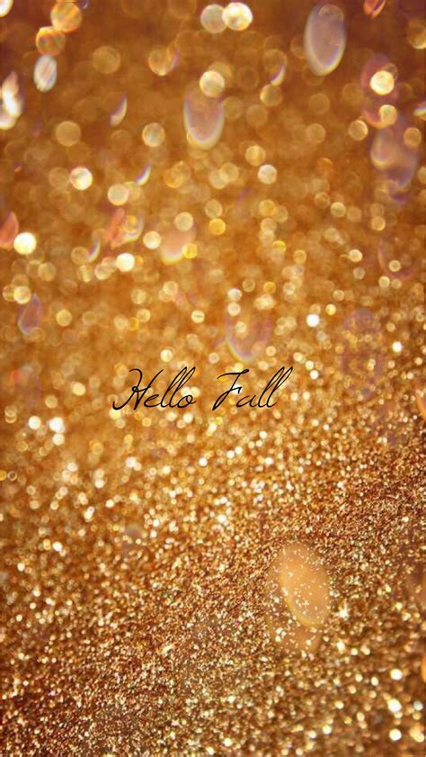Glitter Fall Iphone Wallpaper by Glitter Gold Wallpaper 34 Images