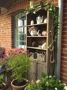 Schrank Für Garten : geliebter terrassenschrank von katinkaa garten drau en pinterest garten garten deko und ~ Orissabook.com Haus und Dekorationen