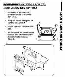 2003 Hyundai Sonata Installation Parts  Harness  Wires