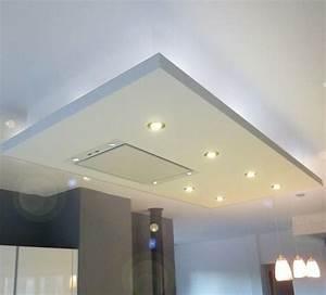 Spot Plafond Salon : faux plafond cuisine staff pinterest faux plafond ~ Edinachiropracticcenter.com Idées de Décoration