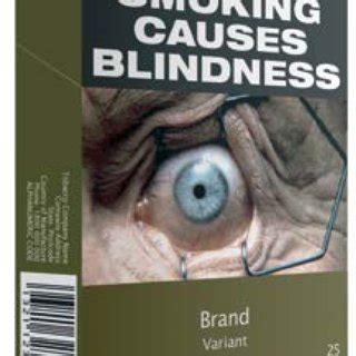 standardised packaging  tobacco report