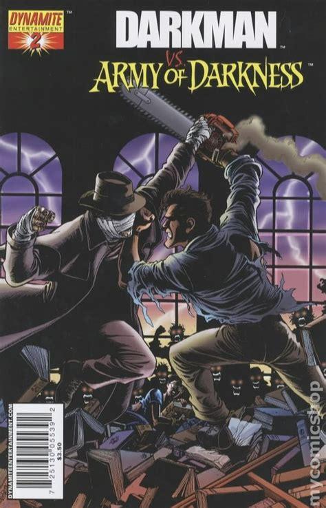 darkman comic books issue