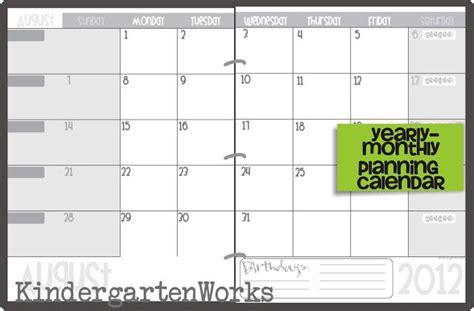 printable calendar template classroom celebrations