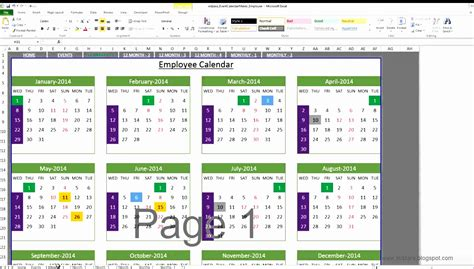 vacation tracker excel template excel templates