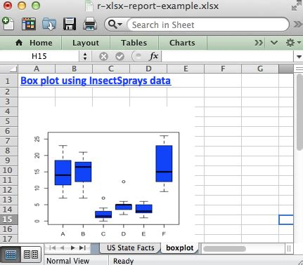 xlsx package  quick start guide  manipulate excel