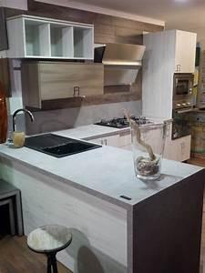 cucina moderna vintage in offerta outlet completa con penisola vero affare Cucine a prezzi