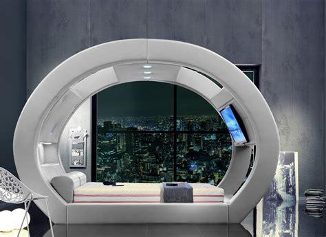 bed   futuristic stylish comfortable
