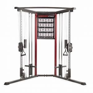 Weider Total Body Cable Weight Machine  Tone Up With Sears