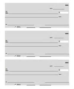 Free Blank Check Template Word