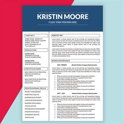12277 marketing resume design 21 marketing resume templates for every seeker