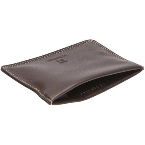 porte monnaie clic clac touraine cuir le tanneur maroquinerie homme