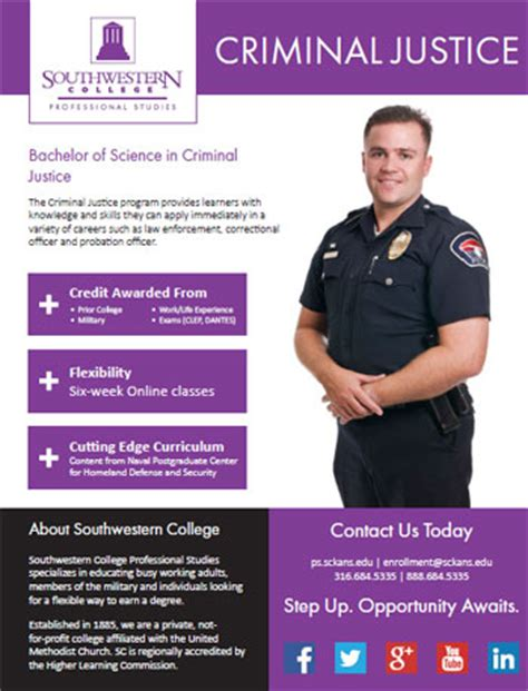 Bachelors Program by Criminal Justice Southwestern College Professional Studies