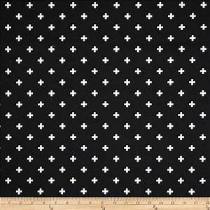 New Premier Prints Mini Swiss Cross Fabric Black or 4 Choices