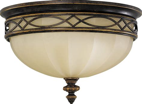 murray feiss fm261wal edwardian transitional flush mount