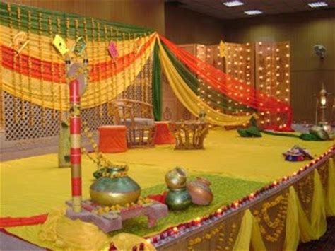 mehndi function decoration ideas  home