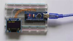SSD1306 OLED Displays - MicroController Electronics