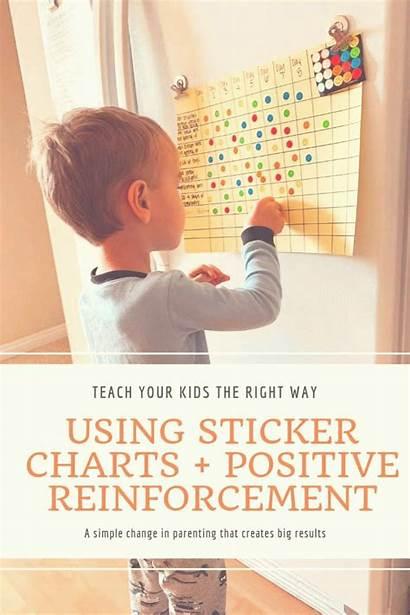 Behavior Positive Chart Using Reinforcement Discipline Rewards