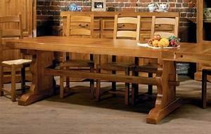 Meuble En Chene Massif : meubles hellin photo 2 10 immense table de monast re ~ Dailycaller-alerts.com Idées de Décoration