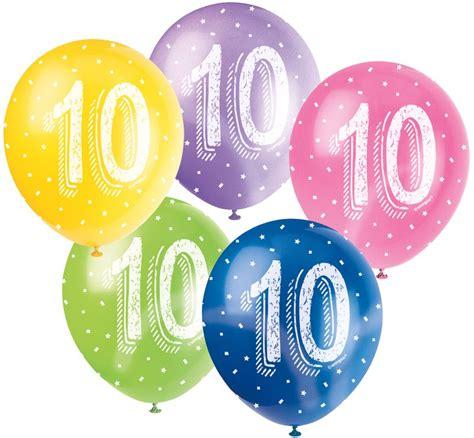 10 geburtstag deko 10 geburtstag pink folienballon girlande luftballons kerze deko set zehn