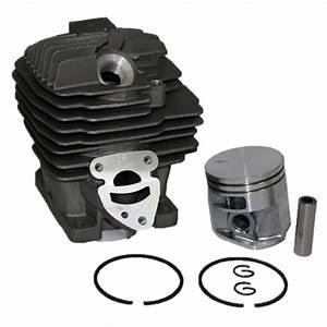 Piston  U0026 Cylinder Assembly Kit For Stihl Ms261 Chainsaw 44 7mm