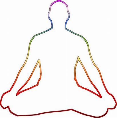 Meditation Svg Meditating Siddhasana Drawing Yogi Yoga