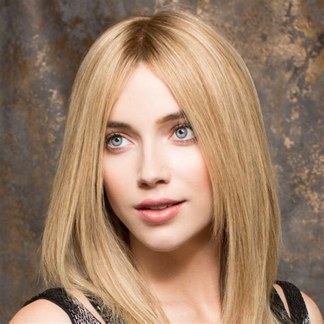 New Feel Quality Wigs Blonde Straight No Bangs New Feel Dolls Brand Liaison