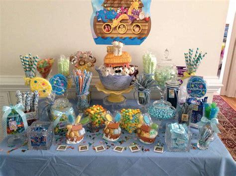 Noah S Ark Baby Shower Theme by Noah S Ark Themed Table Table Ideas