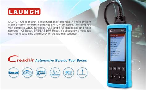 launch creader 8021 obd2 scanner code reader enhanced obdii eobd automotive scanner