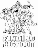 Bigfoot Coloring Pages Finding Sasquatch Colouring Lineart Riolo Rictor Ages Books Deviantart Uploaded User sketch template
