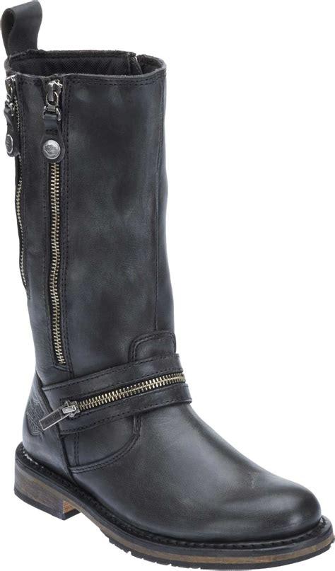 female motorbike boots harley davidson women 39 s sackett 10 75 in leather