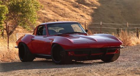 chevrolet corvette sting ray custom autocross car video
