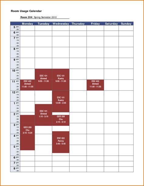 weekly schedule template pdf 8 weekly schedule template pdfreference letters words reference letters words
