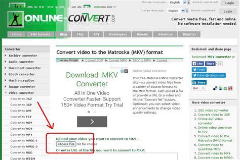 convert video files  mkv easily