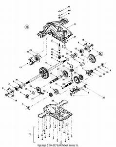 Troy Bilt 14bv809h063  2000  Parts Diagram For